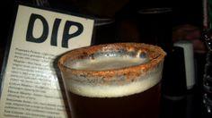Pumpkin ale with a cinnamon sugar rim! Genius and Yumm! Credit to Shock Top Beer and Duck Inn Pub Cape Cod
