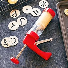 cookie press - would make my life so much easier right now