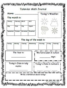 math worksheet : 1000 ideas about daily calendar on pinterest  calendar journal  : Calendar Math Worksheets