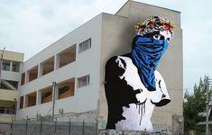 Twenty European Street Artists to Color Athens | GreekReporter.com