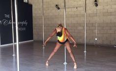 Szok! Matka tańczy taniec na rurze z bobasem – film