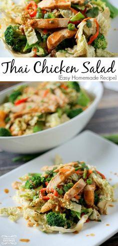 Easy Thai Chicken Salad Recipe