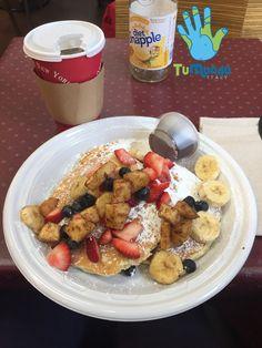 Breakfast in New York City #TuMundoItaly #FollowTuMundo #travel #traveling #socialenvy #shopstemdesigns #vacation #visiting #instatravel #instago #instagood #trip #holiday #photooftheday #fun #travelling #tourism #tourist #instapassport #instatraveling #mytravelgram #travelgram #travelingram #igtravel #breakfast #pancakes #usa #unitedstatesofamerica #newyorkcity #newyork