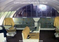 Aircraft Interiors, National Airlines, Vintage Airline, Civil Aviation, Upper Deck, Photo Galleries, Sun Shine, Lounges, Cabins