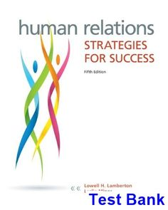 Human resource management 14th edition test bank mondy martocchio human relations strategies for success 5th edition lamberton test bank test bank solutions manual fandeluxe Images