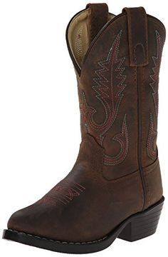 Smoky Mountain Kids Western Annie Rubber Sole Boots - Brown Distress Child 3 Smoky Mountain http://www.amazon.com/dp/B00A8ST4N8/ref=cm_sw_r_pi_dp_6kBPvb15NRJBN