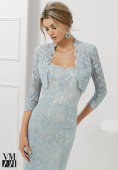 Evening Gowns / Dresses Style 71117: Stretch Lace with Beaded Appliques and Edging http://www.morilee.com/socialocassion/vmcollection/71117