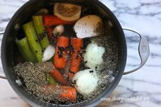 How to make Chicken Broth from The Organic Kitchen