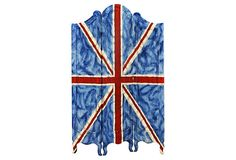 Monte Carlo 3-Panel Screen, Royal Blue on OneKingsLane.com$760 to $359