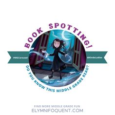 Celebrating our love for books from the Middle Grade shelf with another quickie cover quiz from CJ & Elza at #MGCarousel. Do you know this book? #amreading #kidlit #middlegrade #mglit #IReadMG