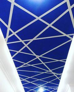 Ceiling painting desgin....🎨☕🍝 #ceiling #roop #plafon #plafondesign  #art #painting #paintingartgallery #designunik #artspotlight