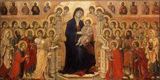 NOMBRE: Maestà de la catedral de Siena AUTOR: Duccio di Buoninsegna AÑO: 1308-1311 GOTICO Temple sobre madera