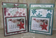 StampinWithLiz.com    Stampin Up; Blooms & Bliss DSP