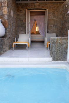 Superior double room with private pool, Palladium Hotel Mykonos - Greece