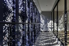 view through perforated metal cladding - Google Search