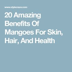 Do you know the array of health benefits mango has to offer? If no, learn here about benefits of mangoes, nutrition facts, healthy recipes & other fun facts Mango Health Benefits, Health Benefits Of Almonds, Almond Benefits, Incredible Recipes, Amazing, Dark Chocolate Benefits, Oils For Skin, Hair Health, Fitness Nutrition
