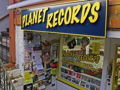 from another planet - records! Planet Records, JFK Street, Harvard Square