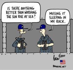 """""""missing it sleeping in my rack"""" will be me Military Humor, Navy Military, Military Life, Navy Memes, Navy Humor, Us Sailors, Royal Australian Navy, Navy Life, Fallen Heroes"""