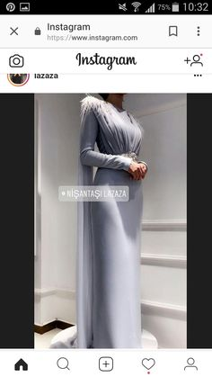 And another engagement suit . Hijab Gown, Hijab Evening Dress, Hijab Dress Party, Evening Dresses, Prom Dresses, Abaya Fashion, Modest Fashion, Fashion Dresses, Engagement Suits