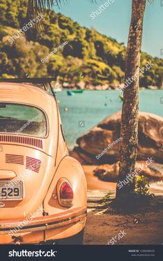 Coupé de VW Volkswagen escarabajo policía Brasil Sao Paulo negro blanco 1967 1//18...