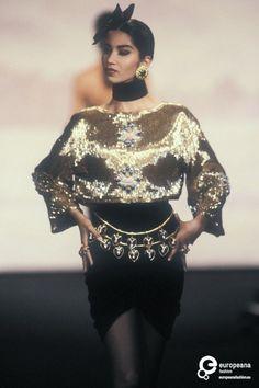 Chanel, Autumn-Winter 1990, Couture on www.europeanafashion.eu
