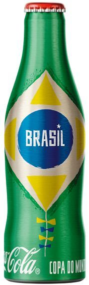 Coke World Cup bottles – Brazil