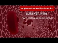 Supplement for healthy circulation