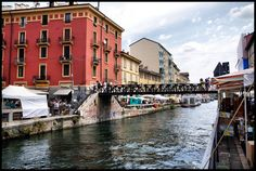 Milano, Italia, Naviglio Grande