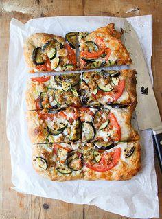 Summer Veggie Pizza by the little epicurean, via Flickr