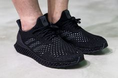"adidas Futurecraft ""Black"" Detailed & On-Foot Look"