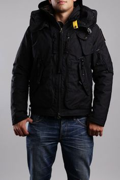 Parajumpers Big Bend-M Jacket Black Men