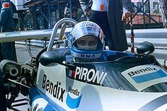 Didier Pironi au Grand Prix de Monaco de Formule 2 en 1977
