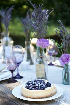 Summer Entertaining~ A Lavender Inspired Table