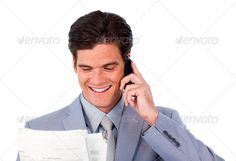 Happy businessman on phone holding a newspaper ...  break, business, businessman, businesspeople, casual, caucasian, coffee, communication, confident, contemporary, copy, copyspace, corporate, drinking, editorial, environment, executive, friendly, handsome, happy, job, lifestyle, male, man, manager, modern, news, newspaper, office, paper, people, person, portrait, positive, reading, satisfied, sitting, smart, smile, smiling, space, tea, work, working, workplace, young