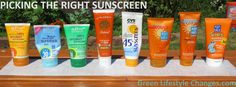 Picking Safe and Effective Sunscreen for the Family