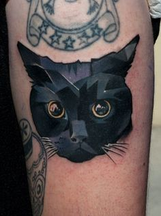 Cat tattoo | Cisga, Budapest