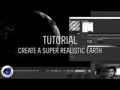 ▶ Tutorial | Create a Super Realistic Earth in Cinema 4D - YouTube