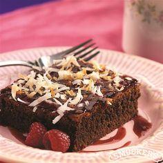 Chocolate Raspberry Treats from Smucker's®