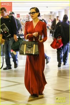 914d166ec4ff Dita Von Teese Announces Meet   Greet Later This Month!  Photo Dita Von  Teese is the lady in red while heading into LAX Airport on Tuesday  (November in Los ...