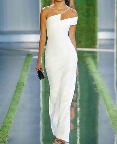 Evening Dresses, Prom Dresses, Formal Dresses, White Evening Gowns, Elegant Dresses, Pretty Dresses, Look Fashion, Womens Fashion, Fall Fashion