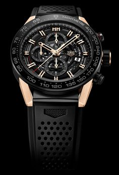 TAG Heuer Calibre Heuer-01- Rose Gold - 1