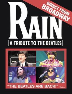 Rain  A Tribute to the Beatles is in Houston today...would love to have been able to go!