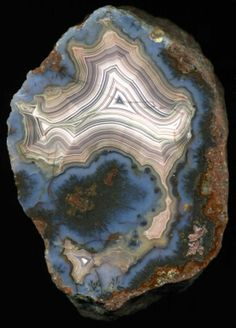 Laguna Agate, Chihuahua, Mexico. From the Marco Campos-Venuti collection.