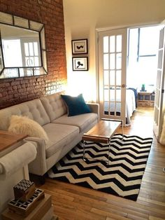 Living room — Small Cool Contest | Apartment Therapy