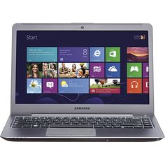"Samsung - 14"" Laptop - 8GB Memory - 750GB Hard Drive - Silver"