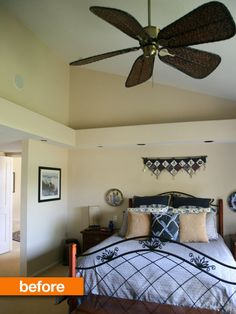 Before & After: Sophisticated Master Bedroom Makeover