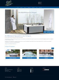 NIMA GmbH Wellnesspools.ch, Ostermundigen, Bern, Whirlpool, Schwimm-SPA, Sauna