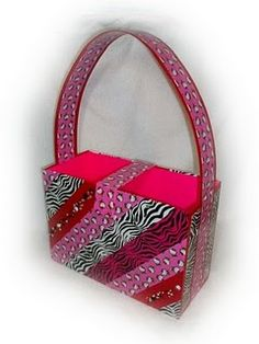 duct tape bag by Becky Conley - Duck Brand duct tape challenge