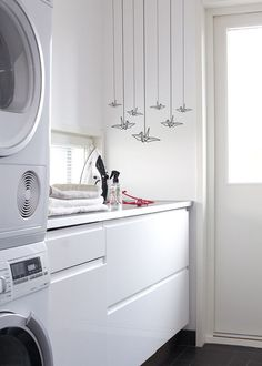 Laundry Room Sticker Wall Sticker Decal by HoneyDropDecals on Etsy