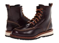 $995 DSquared Brown Leather Hiking Boots size 10 New Box Wood Tan Black Shoes D2 #Dsquared2 #HikingTrail